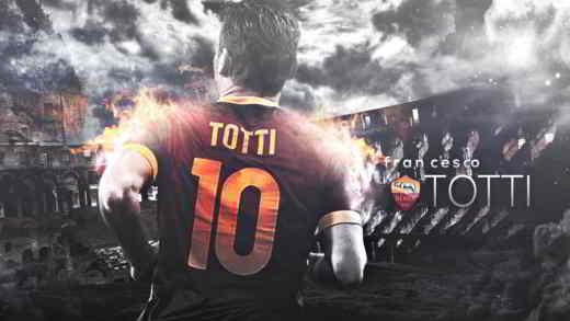 totti capitano della roma - Francesco Totti l'eterno capitano della Roma