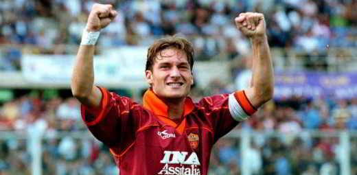 totti giovane - Francesco Totti l'eterno capitano della Roma