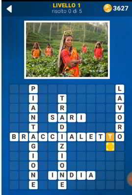 Screenshot 1 4 - Soluzioni 140 Foto Cruciverba