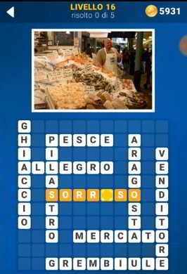 Screenshot 76 4 - Soluzioni 140 Foto Cruciverba