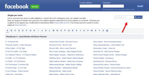 facebook login accesso diretto l
