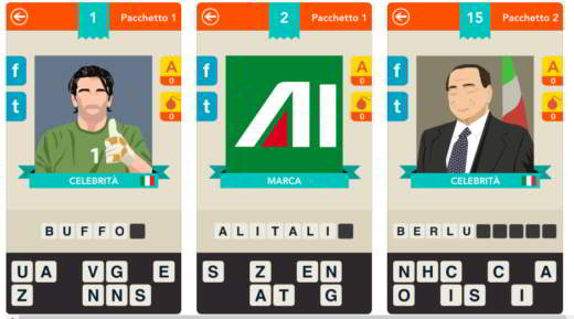 iconica soluzioni - Soluzioni del gioco Iconica per iOS