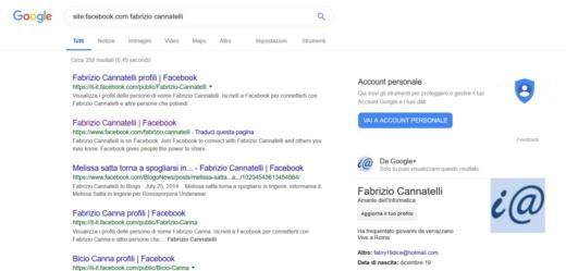 facebook accedi pagina iniziale
