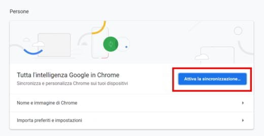 recupero password google