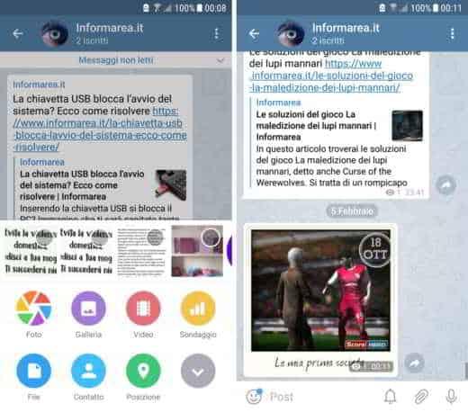 trasferire foto da android a iphone