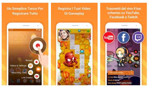 du recorder - Migliori screen recorder Android