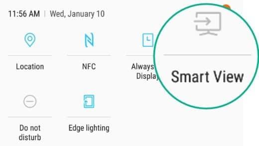 condivisione schermo android