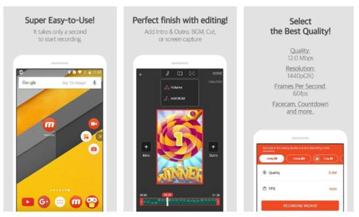 mobizen screen recorder - Migliori screen recorder Android