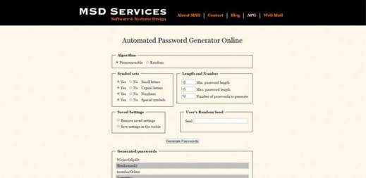 generatore di password con nome e cognome