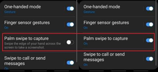 come fare screenshot samsung