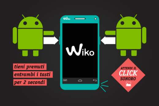 come si fa screenshot android