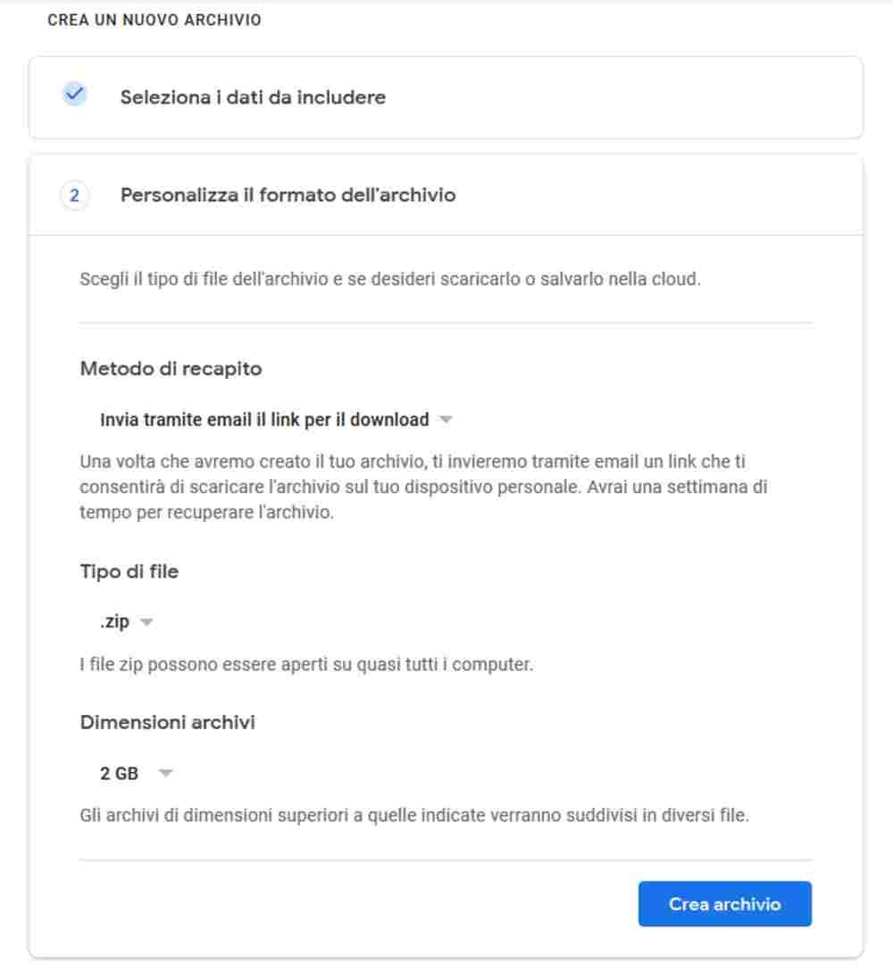 seleziona dati google plus - Google Plus chiude: ecco come scaricare i tuoi dati