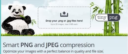 Compressione immagini JPG online