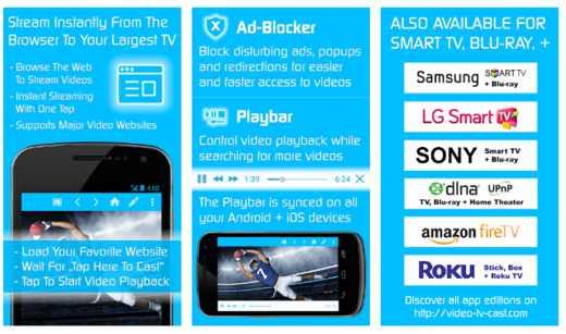 riprodurre schermo android su tv