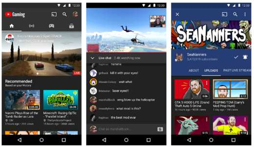 youtube gaming - Migliori screen recorder Android