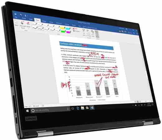 notebook convertibile