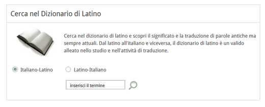 olivetti dizionario latino