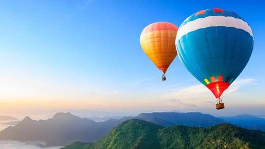 volare in mongolfiera