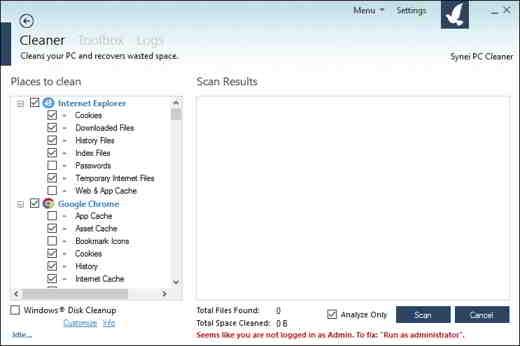 12 synei PC cleaner - Programmi per eliminare file inutili