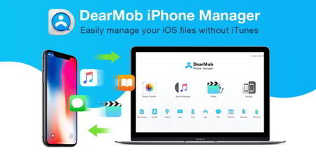 dearmob iphone manager small - DearMob iPhone Manager: la miglior alternativa a iTunes per Windows e Mac