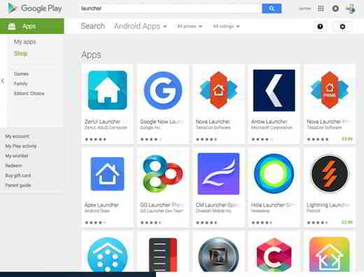 come cambiare icone android