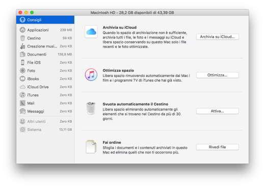 pulire mac file inutili - Programmi per eliminare file inutili