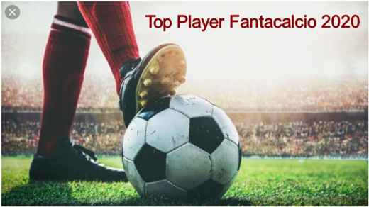top player fantacalcio 2020 - Top Player Fantacalcio 2020