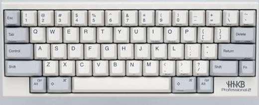 6 Happy Hacking Keyboard Professional2 - Miglior tastiera PC 2020: guida all'acquisto