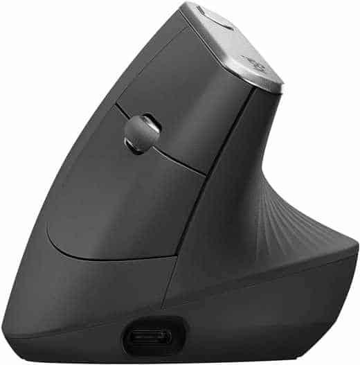 6 Logitech MX Vertical Mouse - Migliori mouse 2020 wireless e con filo: guida all'acquisto