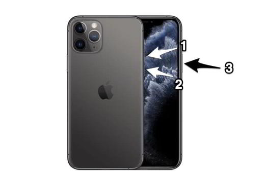 riavviare iphone 11