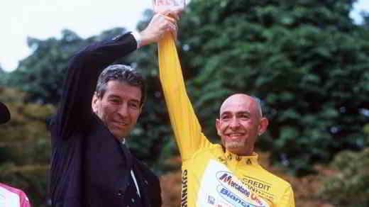 felice gimondi e Marco Pantani
