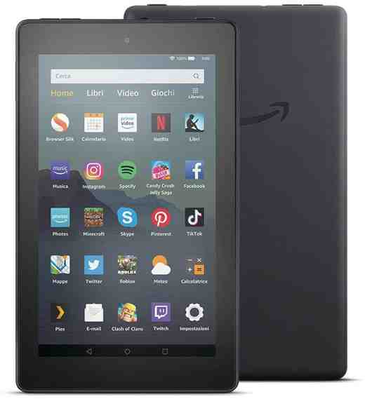 tablet fire 7 - Migliori tablet Android 2020: guida all'acquisto