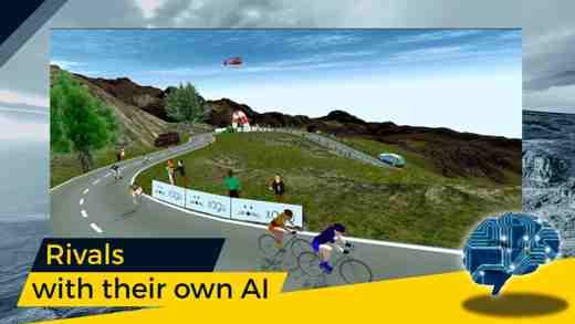 simulatore ciclismo