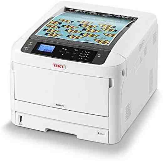 4 OKI C824dn - Migliori stampanti multifunzione per ufficio 2019: guida all'acquisto