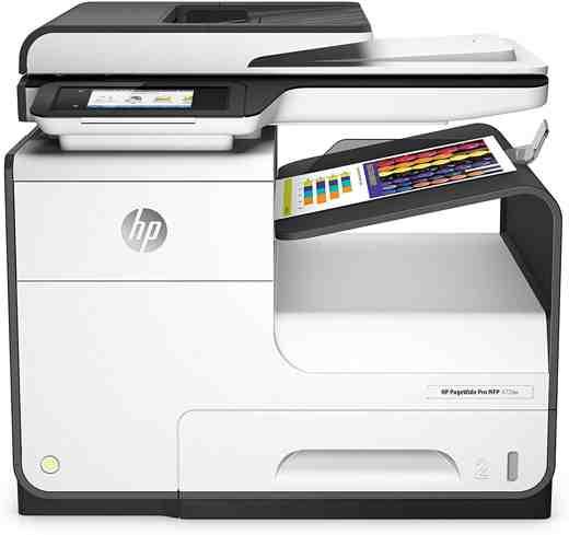 6 HP D3Q20B Page Wide Pro 477dw - Migliori stampanti multifunzione per ufficio 2019: guida all'acquisto