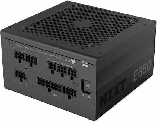 6 NZXT E650 - Miglior alimentatore PC 2019: guida all'acquisto