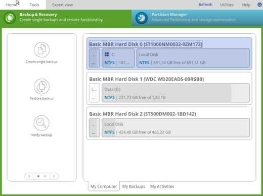 software backup