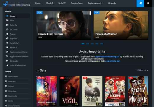 cinema streaming gratis