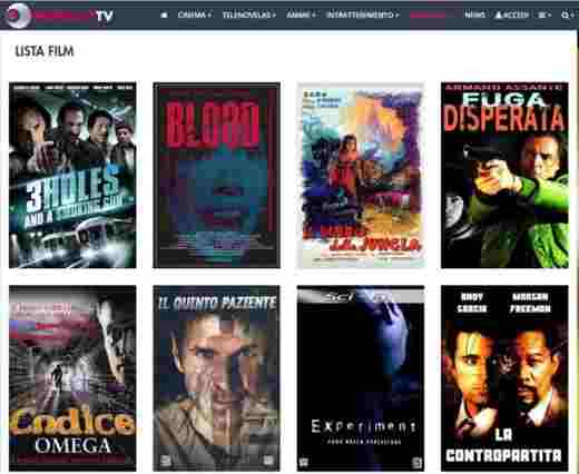 telefilm in streaming