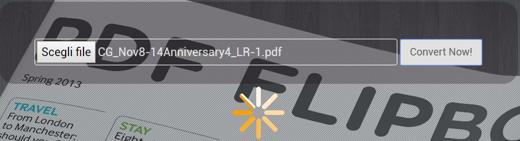 Convertire PDF in catalogo sfogliabile