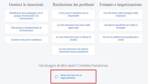 facebook blocca le pagine