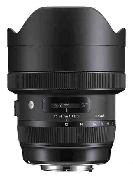 1 Sigma 12 24mm f 4 DG HSM A - Migliori obiettivi Canon per reflex digitali full-frame: guida all'acquisto
