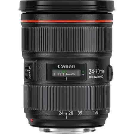 3 Canon Obiettivo EF 24 70 mm - Migliori obiettivi Canon per reflex digitali full-frame: guida all'acquisto