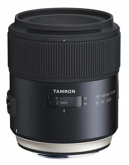4 Tamron 45mm F 1 8 VC - Migliori obiettivi Canon per reflex digitali full-frame: guida all'acquisto
