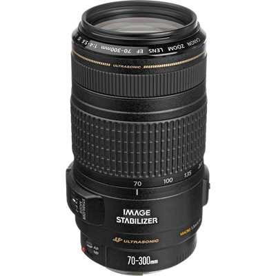 8 Canon Obiettivo EF 70 300 mm - Migliori obiettivi Canon per reflex digitali full-frame: guida all'acquisto