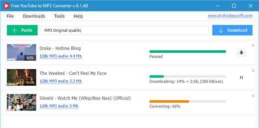 Free You ube to MP3 Converter - Miglior convertitore da YouTube a MP3