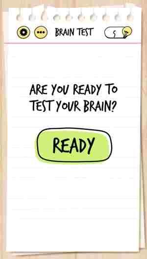 brain test 5 - Le soluzioni di tutti i livelli di Brain Test