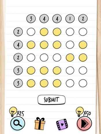 brain test 76 - Le soluzioni di tutti i livelli di Brain Test