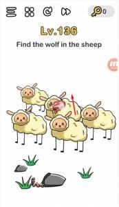 trova il lupo tra le pecore 136 - Brain Out soluzioni: domande e risposte