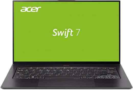 9 Acer Swift 7 - Migliori notebook Acer 2020: guida all'acquisto